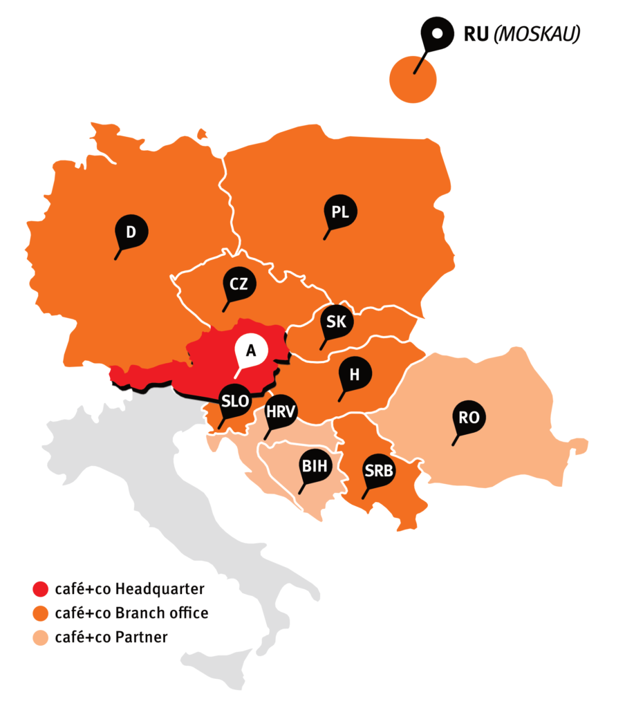 café+co headquarters and offices map